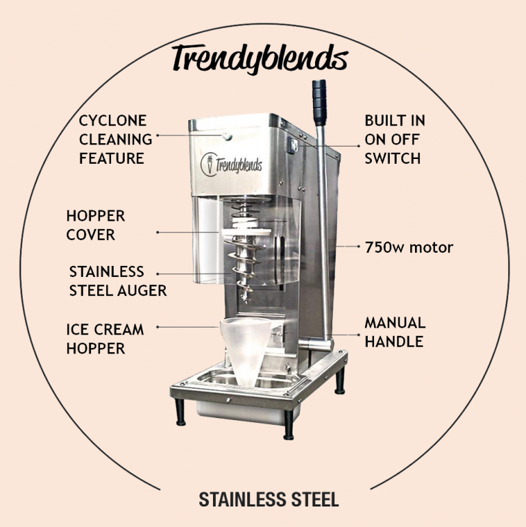 Real Fruit Ice Cream Machine - Blender Product